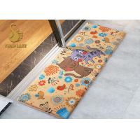 Wholesale Small Indoor Area Rugs , Heated Transfer Printed Bath Door Mats With Custom Pattern from china suppliers