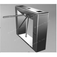 Quality Security Access Waist Height Turnstiles IR Sensor Attendance Barrier for sale