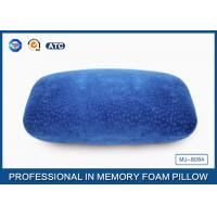 Quality Multi-Function Comfortable Memory Foam Back Cushion Office Napping Pillow In Blue for sale