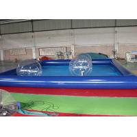Wholesale Inflatable Family Swimming Pool With Water Zorb Ball / Inflatable Water Pool from china suppliers