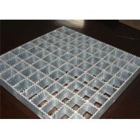 Wholesale Powerful Open Steel Floor Grating , Anti Corrosion Welded Steel Bar Grating from china suppliers
