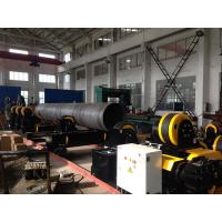 Wholesale Self Aligning Moving Grow Up Welding Ratotor Standing Capacity 60 tons for Round Seam of Long Pipe Assemblying from china suppliers