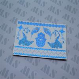 Wholesale Flash blue metallic tattoo, Glitter tattoo from china suppliers