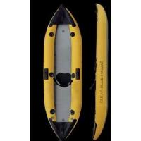 Wholesale Bottom Transparent Inflatable Sea Kayak One Man Inflatable Kayak With 2 Fabric Seats from china suppliers