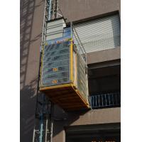China Rack Pinion Type Construction Site Lift Max Lifting Height 450M Rack Module 8 for sale