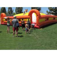 Wholesale Yellow / Red Outdoor Inflatable Games Inflatable Soft Mountain For Kids Racing from china suppliers
