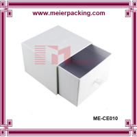 Wholesale Personalized slider paper box, paper candle drawer box/White paper gift box ME-CE010 from china suppliers