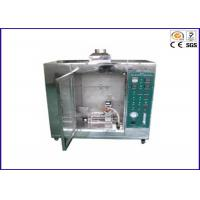China Automatic Electronic Spark Vertical Flammability Tester 40mm Flame Height on sale