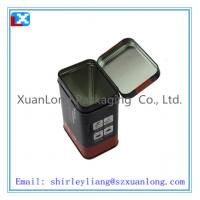 Wholesale empty rectangle coffee tin box /XL-1098 from china suppliers