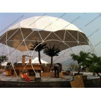 China Aluminium Frame Geodesic Dome Tent for sale