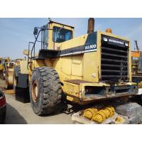 Quality Used KOMATSU WA500 Wheel loader for sale for sale