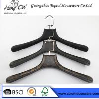Wholesale ABS fashion plastic hanger coat hanger man's clothes hanger from china suppliers