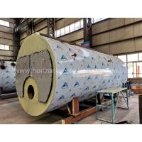 China Horizontal Natural Gas Hot Water Boiler Heating Systems For Washing Industry for sale