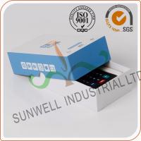 Wholesale Cardboard Handmade Electronics Packaging Boxes For Counter Packing Custom Printed from china suppliers