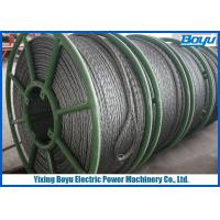 Wholesale Galvanized Steel Braided Anti Twist Wire Rope from china suppliers