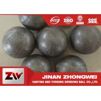 Wholesale 55-65HRC Hardness forged steel grinding ball , ball milling media from china suppliers