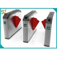 Wholesale Bridge Type Turnstile Entry Systems CE Approved / Glass Wing Fast Speed Turnstile from china suppliers