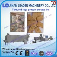 Wholesale Low consumption small tvp tsp soya bean protein food machine from china suppliers