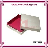 Wholesale Fashionable handmade white cardboard packaging box ME-TB012 from china suppliers