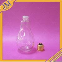 China 200ml bulb bottle with cap on sale
