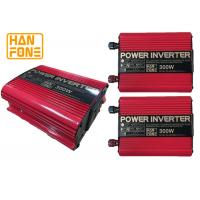 Wholesale Modified Sine Wave 200W Car Power Inverter With AC 12V To DC 220V , red color from china suppliers