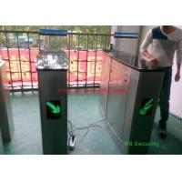 Quality Shopping Mall Luxury Automatic Systems Turnstiles Human Voice Warning , Right for sale
