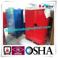 Wholesale Chemical Combustible Storage Cabinets , Industrial Safety Cabinets For Dangerous Goods from china suppliers