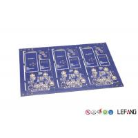 Buy cheap Immersion Gold Custom Circuit Board Assembly Safety Device Applied With Blue from wholesalers