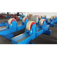 Wholesale Bolt Adjustment Movable Tank Turning Rolls , Welding Pipe Rollers With PU Material from china suppliers