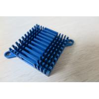 Wholesale Blue Air Cooling Aluminium Heat Sink Profiles / Casting And Forging Heat Sink from china suppliers