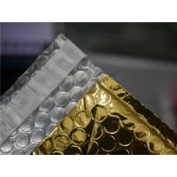 Wholesale Gold Metallic Padded Envelopes , 260x350 #A4-2VD Foil Bubble Wrap Envelopes from china suppliers