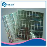 Wholesale Custom 2D / 3D Holographic Sticker , Die Cut Self Adhesive Hologram Sticker from china suppliers