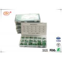 China HNBR NBR 70 O Ring Kit Box Green Good Abrasion Resistance And Tear Resistance on sale