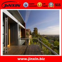 Wholesale JINXIN stainless steel balcony rail design new glass railing from china suppliers