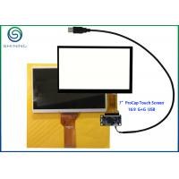 """Wholesale 7"""" Capacitive Touch Screen With USB Interface For Innolux AT070TN92 from china suppliers"""