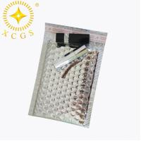 China Small Silver Waterproof Custom Mailing Bag Padded Envelopes Bubble Mailer Package Bag on sale