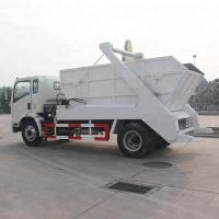 Wholesale Sinotruk new design sinotruk 4x2 swept-body refusecollector swing arm type garbage truck with high quality from china suppliers