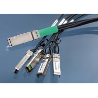 Wholesale QSFP + Copper Cable Insulated Twinax Passive QSFP - 4SFP10G - CU1M from china suppliers