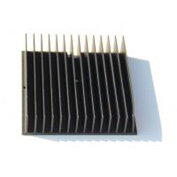 Wholesale Black Anodized 6005-T5 Aluminium Heatsink Extrusions , Finished Machining from china suppliers