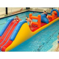 Wholesale 0.9mm PVC Inflatable Aqua Park Inflatable Water Obstacle Course For Kids from china suppliers