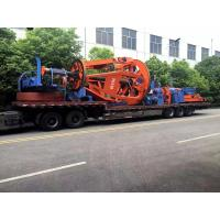 Wholesale European Tyle Cradle 1+1+3 Core Cable Twisting Machine 50RPM / NSK Bearing from china suppliers