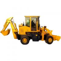 China Rock Loader WZ30-18 Excavators Backhoe Loaders Digging Equipment for sale