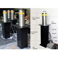 Wholesale Vehicle Access Safety Hydraulic Bollards Rising Automatic Bollards For Driveways from china suppliers