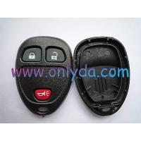 Buy cheap GM 2+1 button remote key blank without battery part from wholesalers