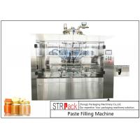 Wholesale Automatic Linear Baby Food Paste Filling Machine With Servo Driven Pump from china suppliers