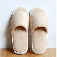 Wholesale Personalized Beige Disposable Hotel Slippers,High Quality Hotel/Spa Slippers from china suppliers
