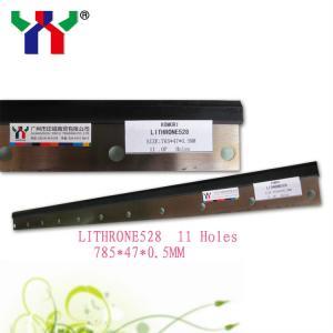 Komori Lithrone 28 Spare Parts Ink Wash Up Blades