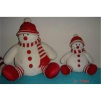 Wholesale Custom Design Snowman in Red Hat Christmas Gift from china suppliers