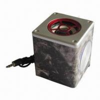 Quality Cheap Portable Micro Speaker Box with 100 to 20kHz Frequency, 4m Ohms Impedance, for sale