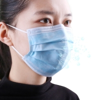 Wholesale Anti Flu Antiviral Breathable 3 Layer Face Mask from china suppliers